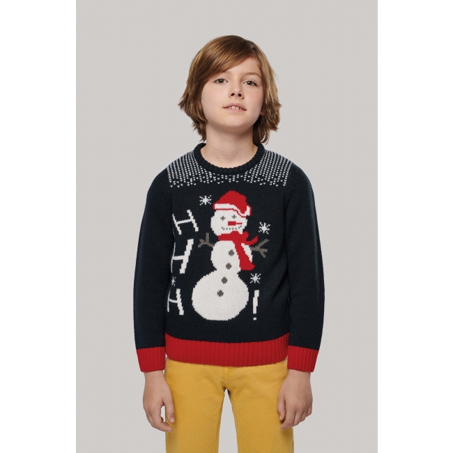 K995 Ho Ho Ho bērnu džemperis