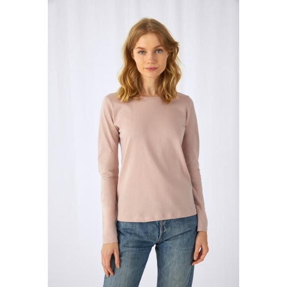 B&C #E150 LSL /women sieviešu t-krekls