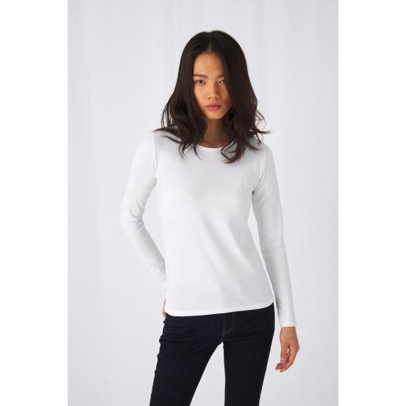 B&C #E190 LSL /women sieviešu t-krekls
