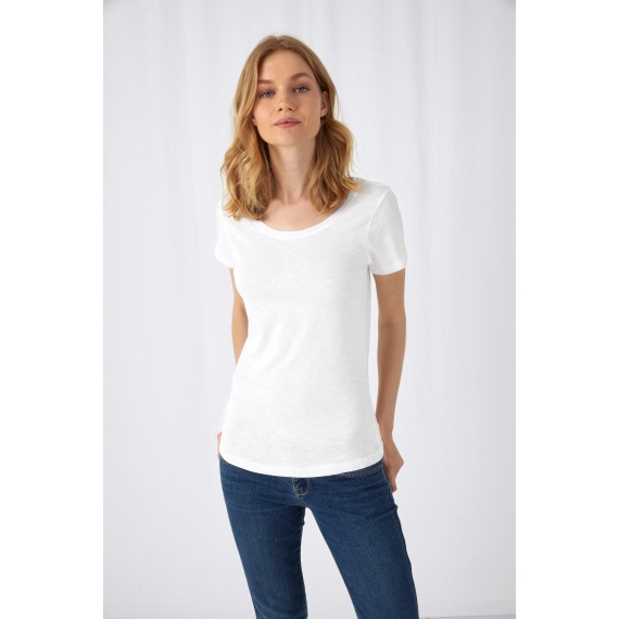 B&C TW047 Inspire Slub T /women sieviešu t-krekls