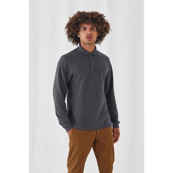 B&C Heavymill LSL polo krekls