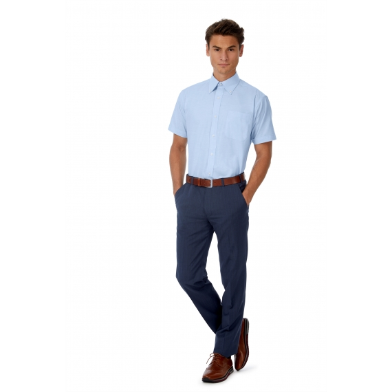 B&C Oxford SSL /men vīriešu krekls