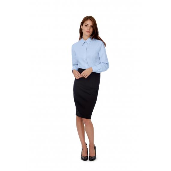 B&C Oxford LSL /women sieviešu blūze