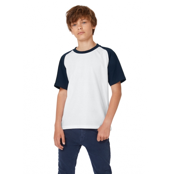 B&C Base-Ball /kids bērnu t-krekls