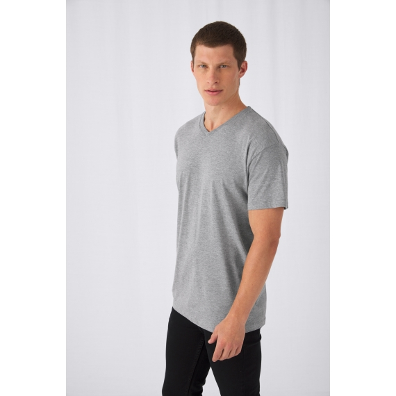 B&C Exact V-neck unisex t-krekls