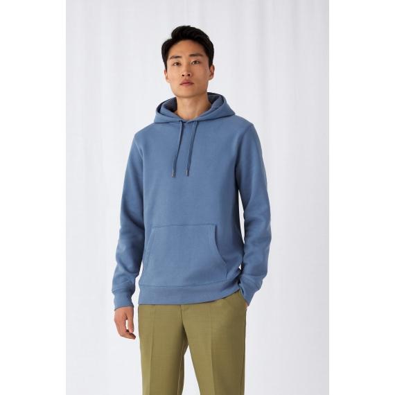 B&C KING Hooded vīriešu džemperis