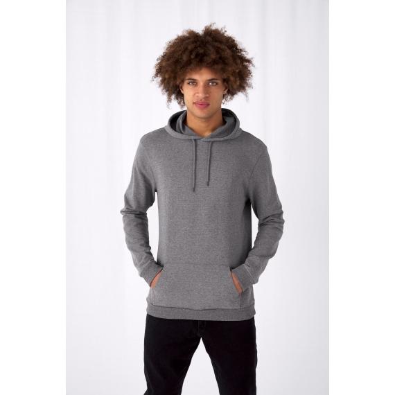 B&C #Hoodie vīriešu džemperis