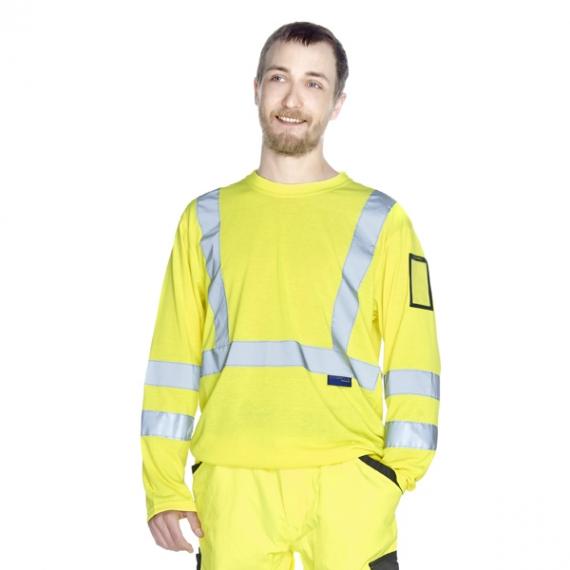 C189 Neon 3 LSL t-krekls ar atstarotājiem
