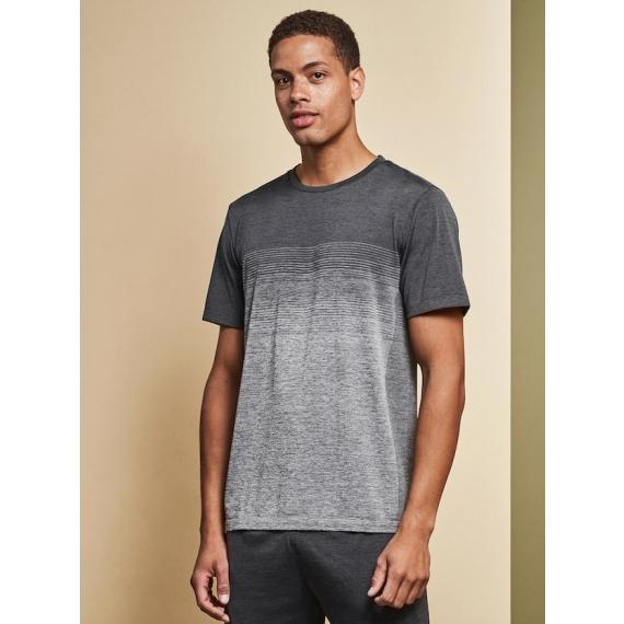 G21024 Geyser Seamless Striped vīriešu t-krekls