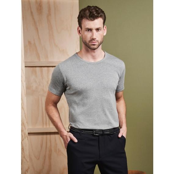 ID 0538 1x1 rib vīriešu t-krekls