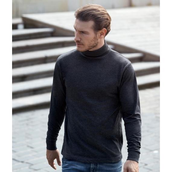 ID 0546 T-time Turtleneck LSL vīriešu t-krekls