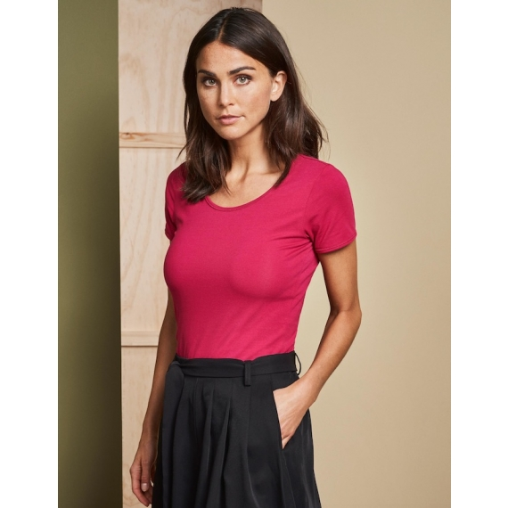 ID 0590 Stretch sieviešu t-krekls