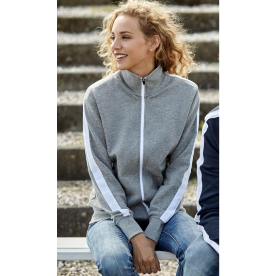 ID 0627 Contrast Stripe sieviešu jaka