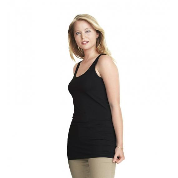 ID 0593 Stretch Top Long sieviešu t-krekls