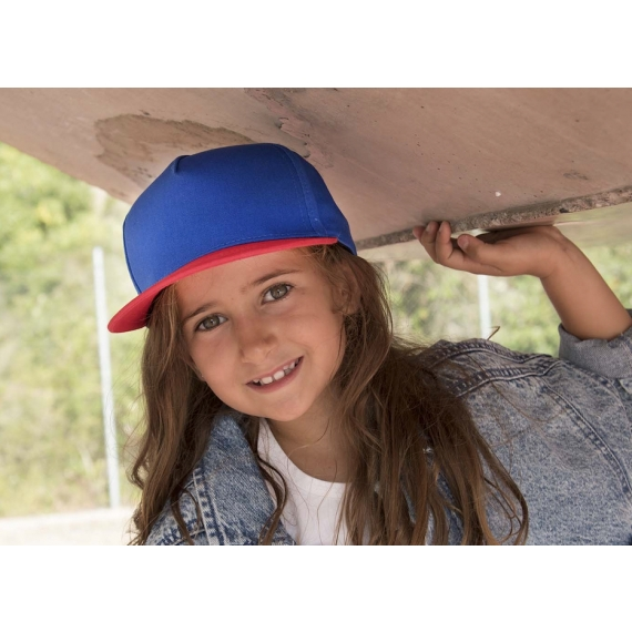 KP147 Snapback bērnu cepure ar nagu