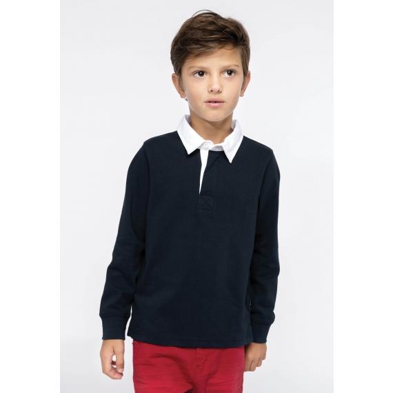 K214 Rugby bērnu polo krekls