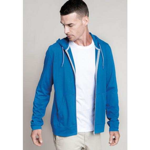 K438 Light cotton hooded unisex jaka