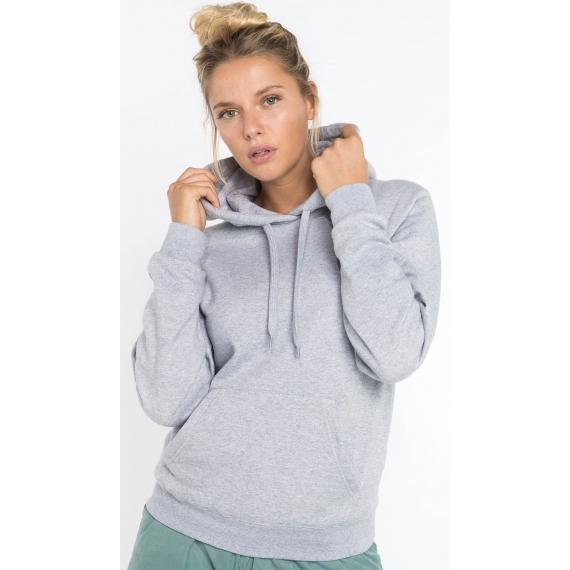 K473 Hooded sieviešu džemperis