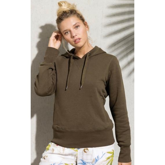 K483 Organic Cotton Hooded sieviešu džemperis