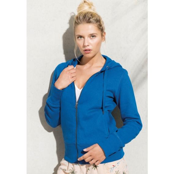 K485 Organic Cotton Full Zip sieviešu jaka