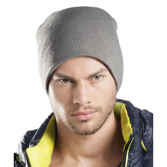 KP518 Fleece lined adīta unisex cepure
