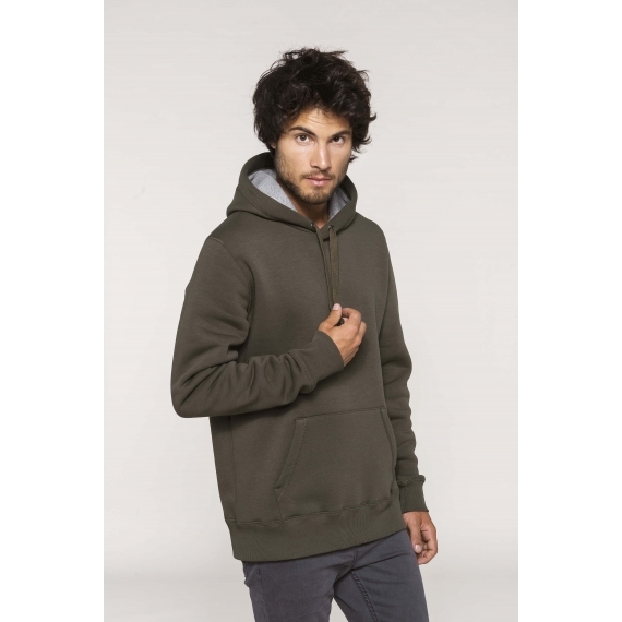 K443 Hooded unisex džemperis