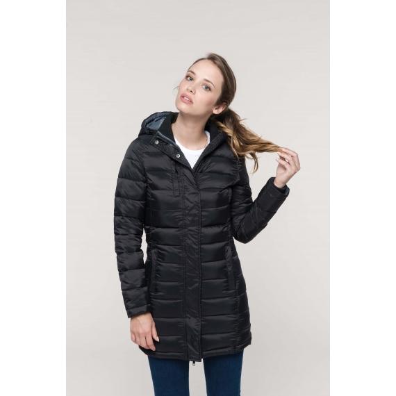 K6129 Lightweight Hooded sieviešu jaka