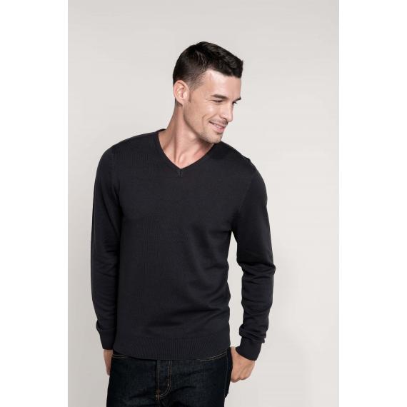 K965 V-neck vīriešu džemperis