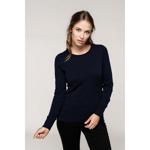 K968 Crew Neck sieviešu džemperis