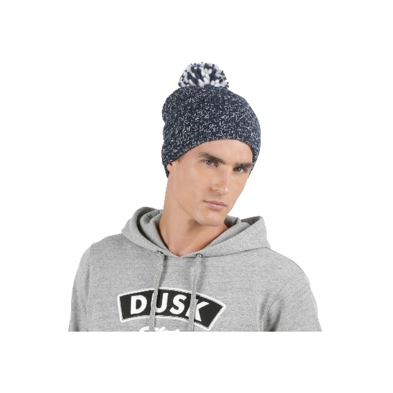 KP528 Adīta unisex cepure ar bumbuli