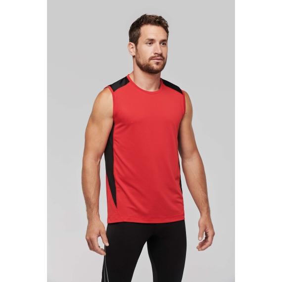 PA475 Two-Tone unisex t-krekls sportam