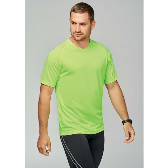 PA476 V-neck vīriešu t-krekls sportam