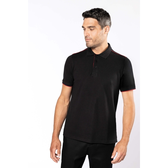 K270 DayToDay SS Contrasting vīriešu polo krekls