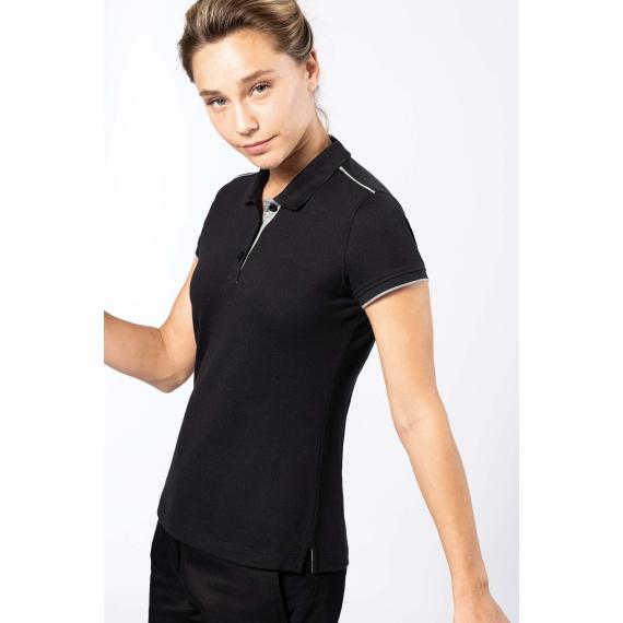 K271 DayToDay SS Contrasting sieviešu polo krekls
