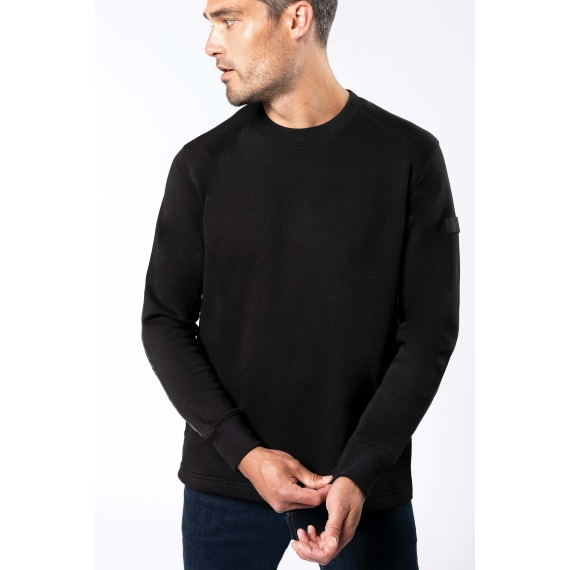 K4001 Set-In Sleeve unisex svīteris