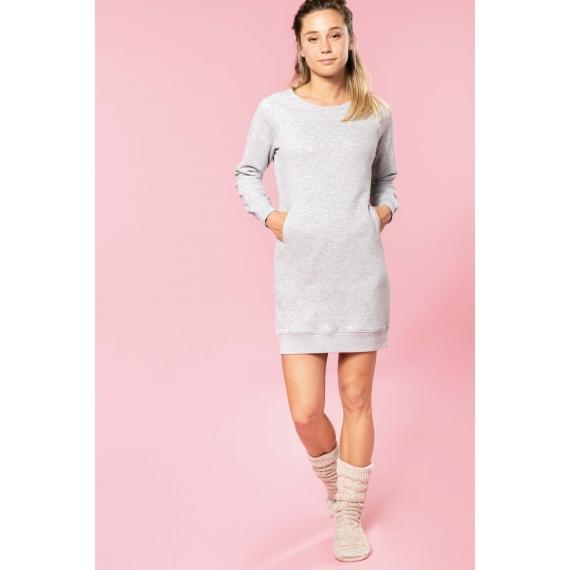 K493 Organic Fleece Lounge sieviešu kleita