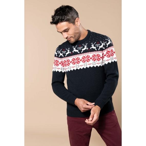 K993 Deer design džemperis