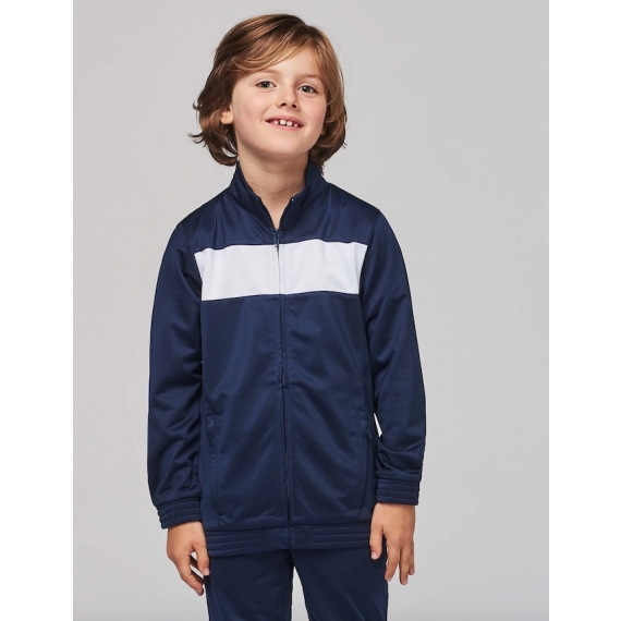 PA348 Bērnu treniņtērpa jaka
