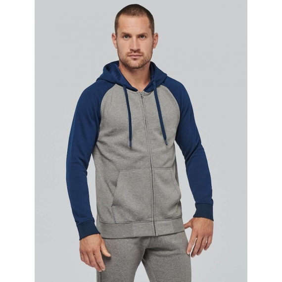 PA380 Two-tone Zipped unisex jaka