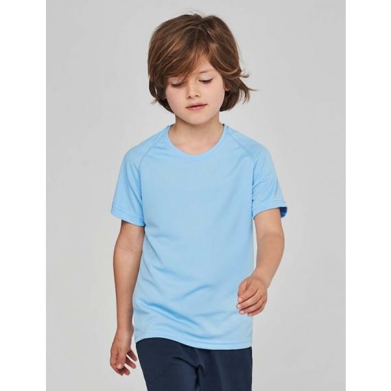 PA445 Crew neck bērnu t-krekls sportam