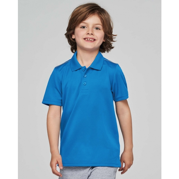 PA488 Interlock bērnu polo krekls