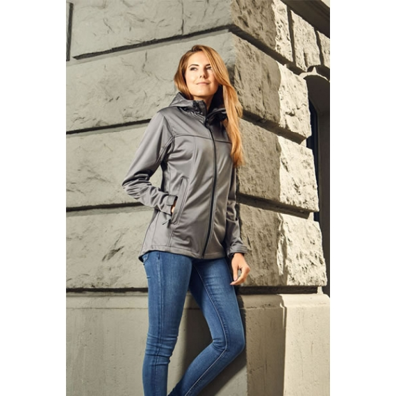 PD 7811 Hooded Softshell sieviešu jaka
