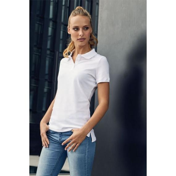 PD 4015 Single-Jersey sieviešu polo krekls