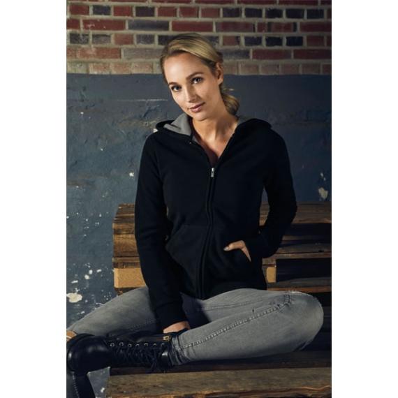 PD 7981 Hooded sieviešu flīsa jaka