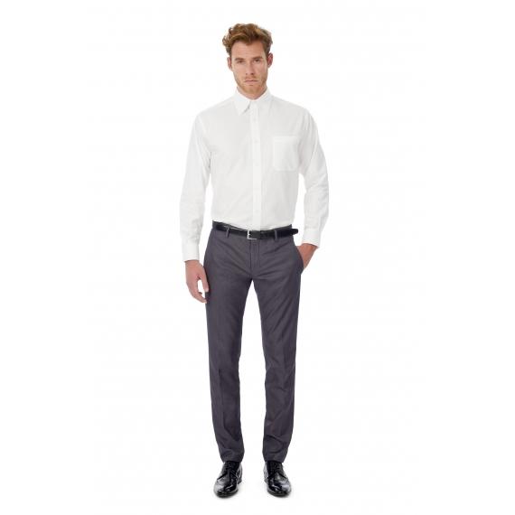 B&C Oxford LSL /men vīriešu krekls