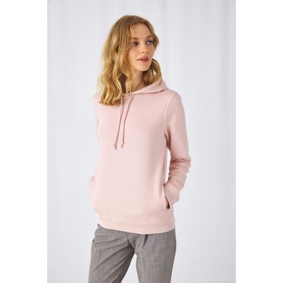 B&C Organic Hooded /women sieviešu džemperis