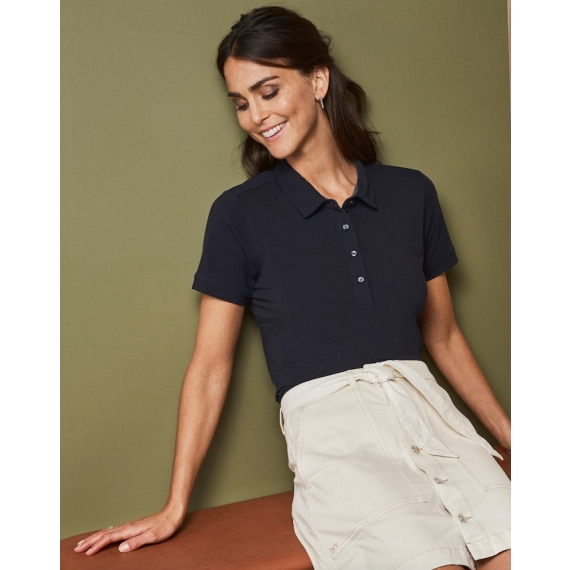 ID 0535 Business Stretch sieviešu polo krekls