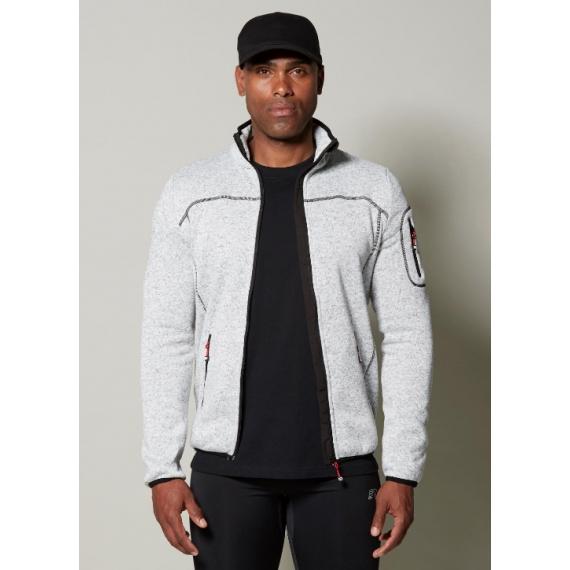 ID 0852 Knit Fleece vīriešu jaka