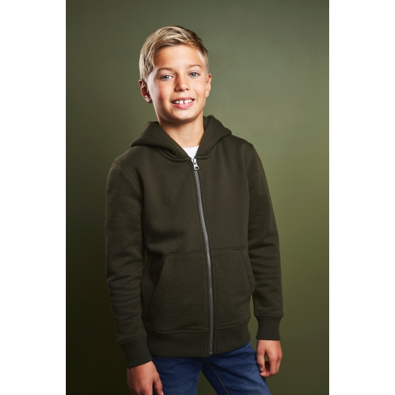 ID 40638 Core Full Zip Hoodie bērnu jaka