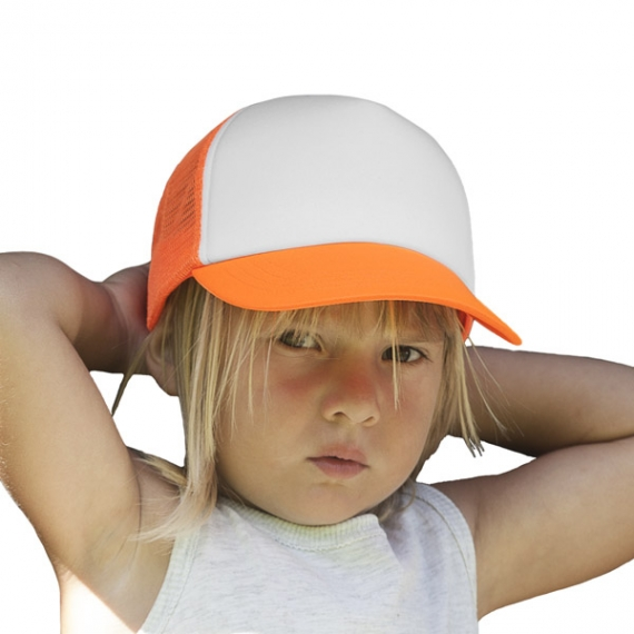 KP143 Trucker Mesh bērnu cepure ar nagu